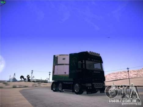 Scania R620 Dubai Trans para GTA San Andreas vista direita