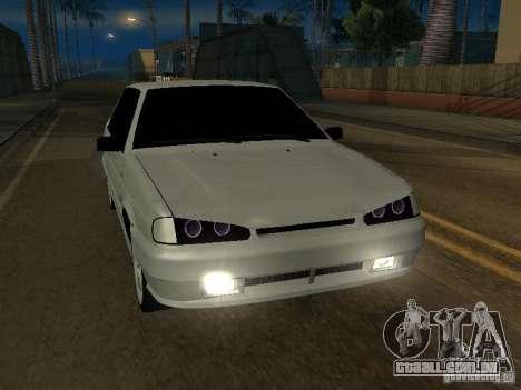 2113TL VAZ para GTA San Andreas vista traseira