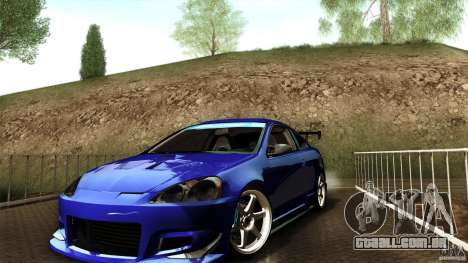 Acura RSX Spoon Sports para GTA San Andreas vista direita