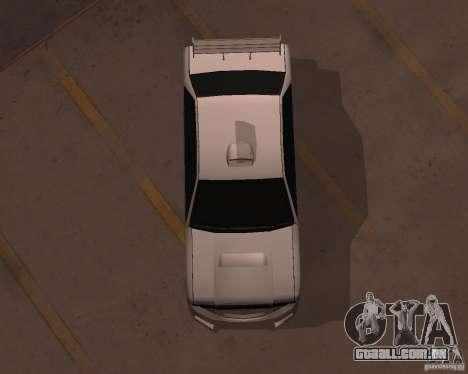 Taxi para GTA San Andreas vista direita