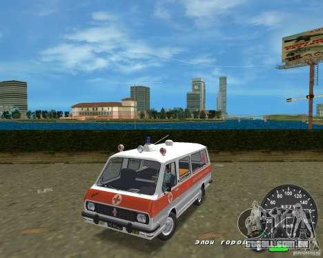 RAF 2203 ambulância para GTA Vice City