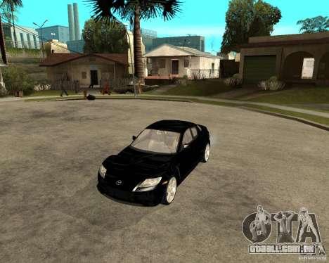 Mazda RX-8 para GTA San Andreas esquerda vista