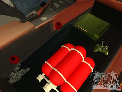 BMW M3 E92 DriftRoots para GTA San Andreas vista interior