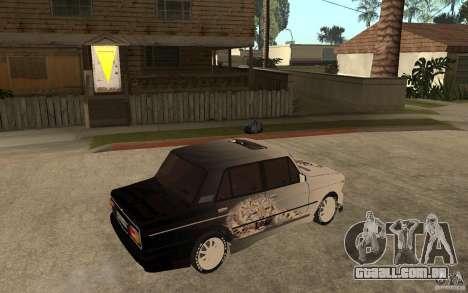 VAZ 2106 duro sintonizado para GTA San Andreas vista direita