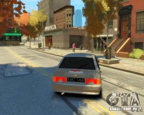 ВАЗ 2114 para GTA 4 traseira esquerda vista