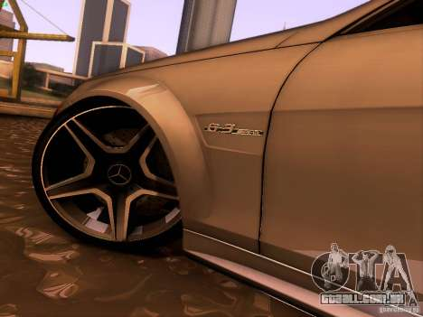 Mercedes-Benz C36 AMG para GTA San Andreas vista interior