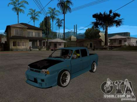 Dacia 1400 Pickup Battle Machine para GTA San Andreas