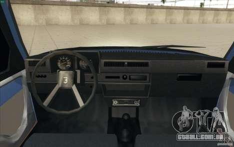 ZAZ-1102 Tavria Tuning para GTA San Andreas vista direita