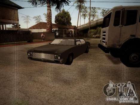 Impaler 1987 San Andreas Stories para GTA San Andreas esquerda vista