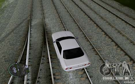 Rails russos para GTA San Andreas décimo tela