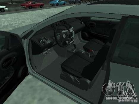 Saturn Ion Quad Coupe 2004 para GTA San Andreas traseira esquerda vista