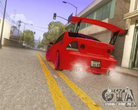 Toyota Altezza Drift Style v4.0 Final para vista lateral GTA San Andreas