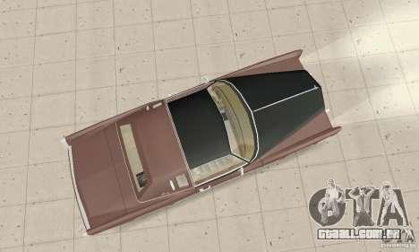 Cadillac Eldorado Biarritz 1978 para GTA San Andreas vista direita