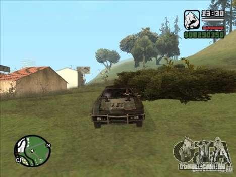 Malice from FlatOut 2 para GTA San Andreas esquerda vista