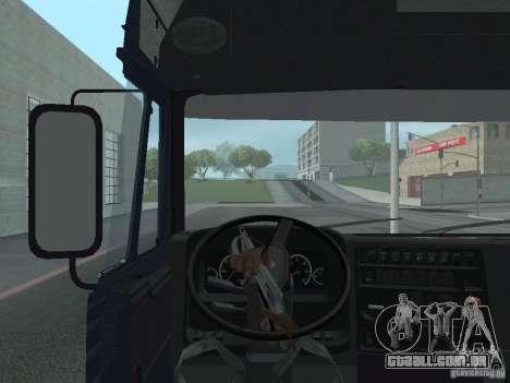 Painel ativo v. 3.0 para GTA San Andreas