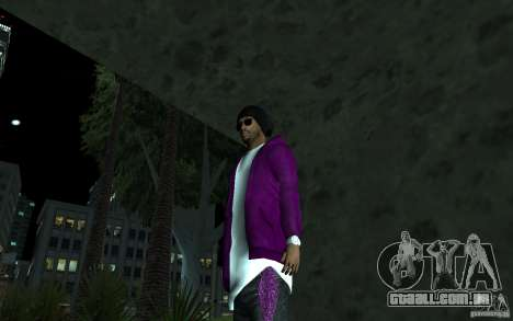 New Ballas para GTA San Andreas terceira tela