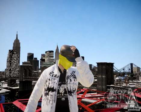 Niko The Mask para GTA 4 sexto tela