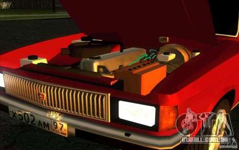 GAZ 3102 Volga Limousine para GTA San Andreas vista traseira