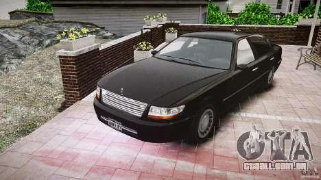 Washington FBI Car para GTA 4 vista de volta