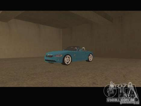Car shop para GTA San Andreas terceira tela