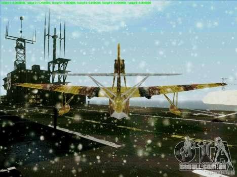 MBR-2 para GTA San Andreas vista traseira