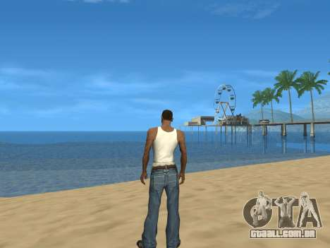 Desabilitando efeitos do calor para GTA San Andreas terceira tela