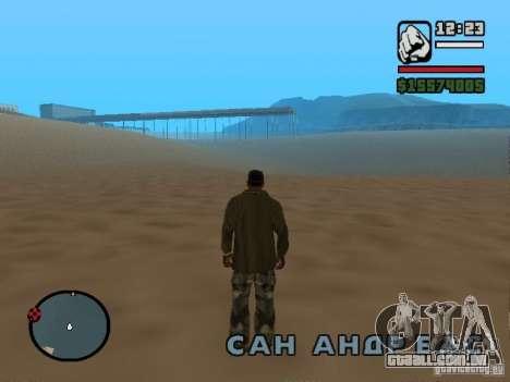 Não há água para GTA San Andreas segunda tela