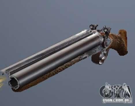 Um conjunto de armas de um stalker para GTA San Andreas terceira tela