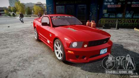 Saleen S281 Extreme - v1.2 para GTA 4 vista de volta