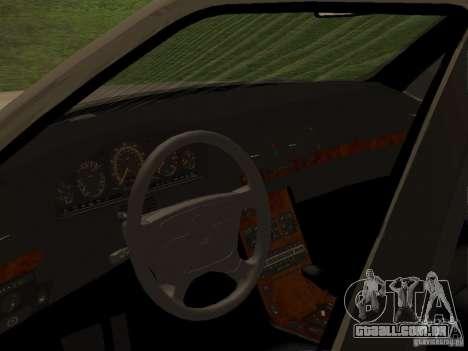 Mercedes-Benz 600SEL W140 para GTA San Andreas vista direita