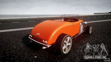 Hot Rod para GTA 4 vista lateral