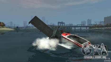 Biff boat para GTA 4 vista lateral