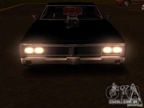 Charger Sabre para vista lateral GTA San Andreas