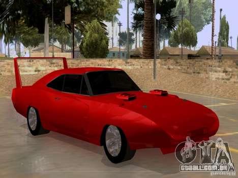 Dodge Charger Daytona 440 para GTA San Andreas vista direita