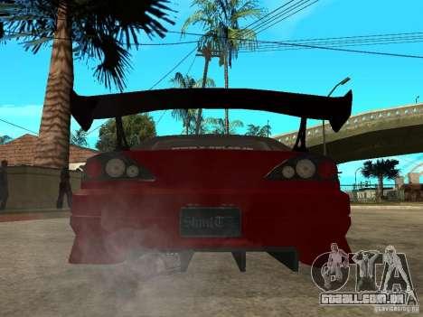 Nissan Silvia S-15 para GTA San Andreas traseira esquerda vista