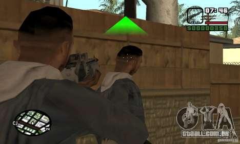 Franchi Special Purpose Automatic Shotgun 12 para GTA San Andreas terceira tela