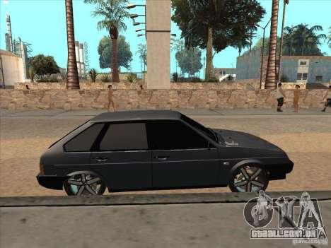 Ajuste de luz VAZ 21093i para GTA San Andreas vista direita