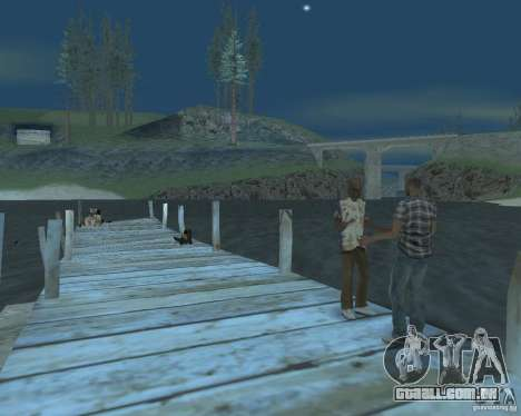 A animada Praia de Palomino Creek para GTA San Andreas segunda tela