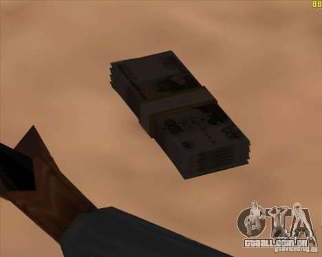 Novos marcadores para GTA San Andreas por diante tela