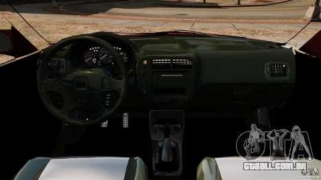 Honda Civic iES para GTA 4 vista de volta
