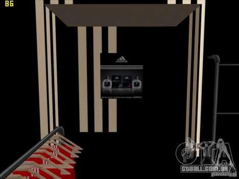 Substituição completa da loja Binco Adidas para GTA San Andreas nono tela