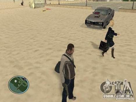 Pedy com sacos e telefones para GTA San Andreas