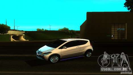Mercedes-Benz A200 Turbo para GTA San Andreas esquerda vista