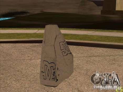 DC de pára-quedas para GTA San Andreas terceira tela
