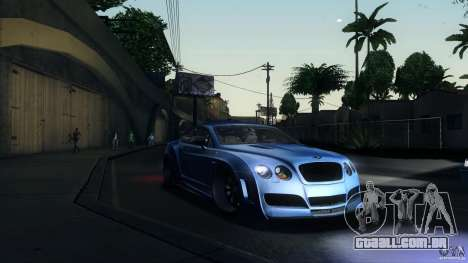 Bentley Continental GT Premier4509 2008 Final para GTA San Andreas esquerda vista