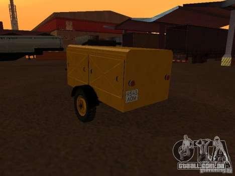 Estação de compressor de reboque para GTA San Andreas