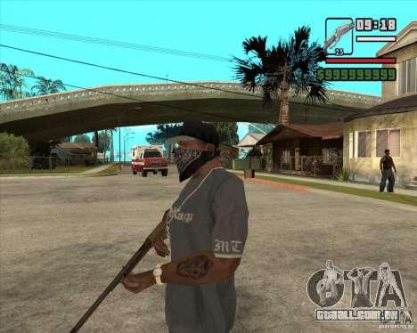 Carabina de caça para GTA San Andreas segunda tela