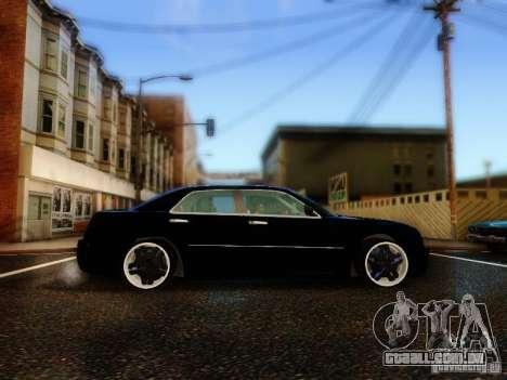 Chrysler 300C VIP para GTA San Andreas vista interior