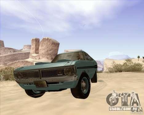 Dodge Demon 1971 para GTA San Andreas vista direita