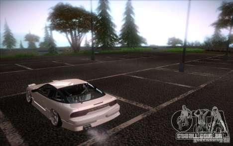Nissan 240SX DriftMonkey para GTA San Andreas esquerda vista